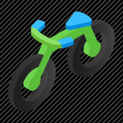 absorber, activity, athlete, bicycle, bike, biking, isometric icon