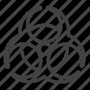 biohazard, biohazard symbol, danger, eco