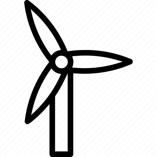 eco, ecology, turbine, wind turbine icon