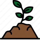 ecology, enviorment, fertile, nature, soil icon