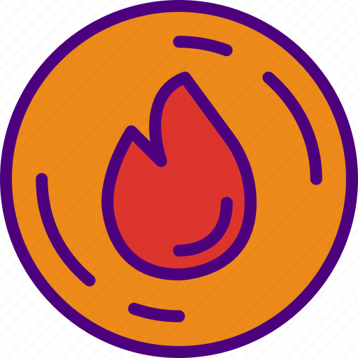 ecology, fire, green, nature, planet, pollution icon