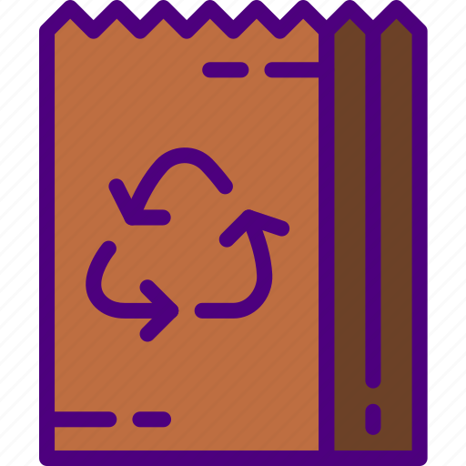 bag, ecology, green, nature, planet, pollution, recycle icon