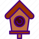 bird, ecology, green, house, nature, planet, pollution icon