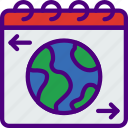 day, earth, ecology, green, nature, planet, pollution icon
