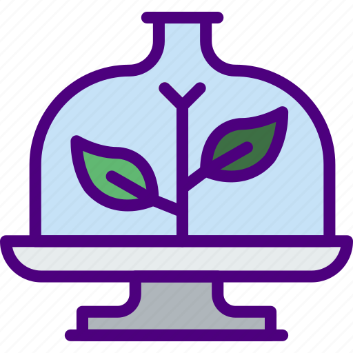 artificial, ecology, green, nature, planet, plant, pollution icon