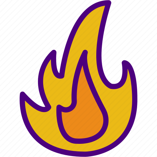 ecology, fire, forest, green, nature, planet, pollution icon