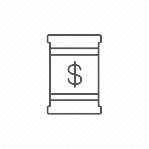 barrel, dollar, environment, fossil, industry, money icon