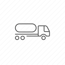 auto, cargo, chemical, fuel, shipping, transport, truck icon