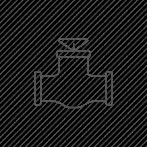 energy, fuel, gas, gasoline, pipe, valve icon
