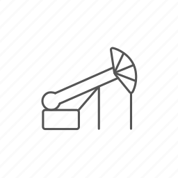 ecology, energy, environment, fuel, gas, jack, pump icon