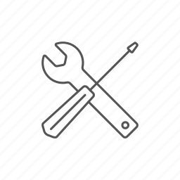 adjust, instrument, screwdriver, service, toolkit, tools, wrench icon