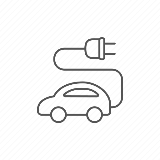 car, charging, eco, electric, hybrid, renewable, tesla icon