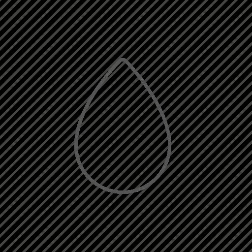 aqua, drop, liquid, nature, rain, technology, water icon