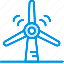 ecology, enviorment, nature, turbine, wind icon