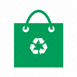 bag, buy, eco, environment, green, recycle, shop, shopping, sign icon