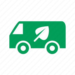 eco, ecology, sheet, transport, truck icon