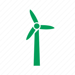 eco, ecology, electric, electricity, energy, mill, power, turbine, wind, windmill icon