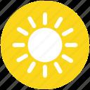 brightness, shining sun, sun, sunny day, sunshine, weather