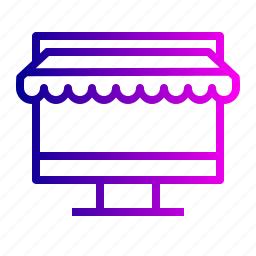buy, ecommerce, finance, laptop, online, shopping, store icon