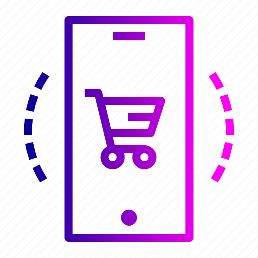 cart, ecommerce, finance, mobile, profit, sale, shop icon