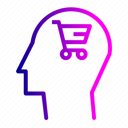 cart, discount, human, mind, sale, shopping, user icon