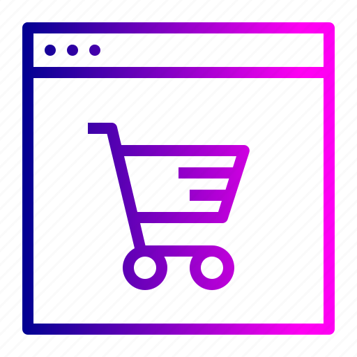 cart, ecommerce, finance, offer, profit, shop, window icon