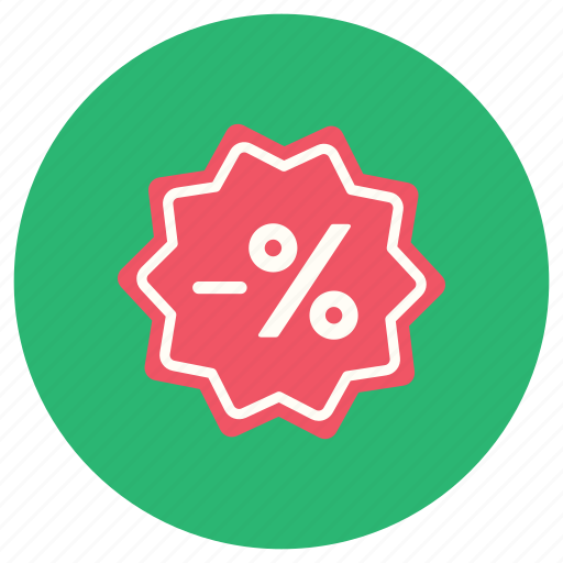 discount, ecommerce, guardar, percentage, sale, save icon