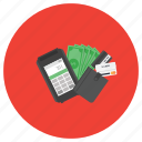 money, pay, payment, secure, wallet icon