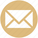 envelope, letter, mail, message, sms icon