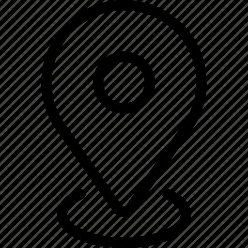 drive, location, map icon