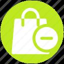 delete, fashion, hand bag, ladies bag, purse icon