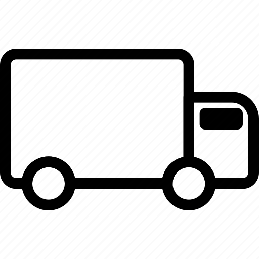 delivery, pack, postal, shipping, transport, truck, vehicle icon