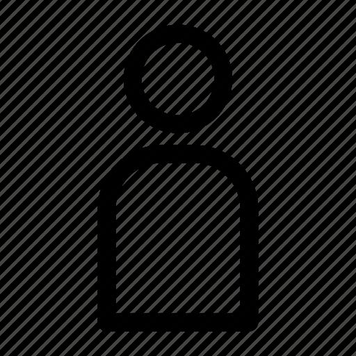 account, ecommerce, manage, person, profile, setting icon