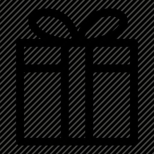 ecommerce, gift, gift wrap, present icon