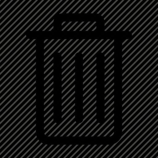 bin, delete, ecommerce, recycle bin, remove, trash icon