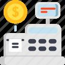 cash, cashbox, drawer, money box, register, till icon