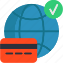 card, method, online, payment icon