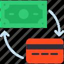 method, payement, remboursement, rétribution, salaire icon