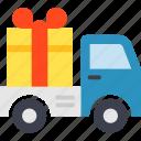 consignment, present, shipment, transport, transportation icon