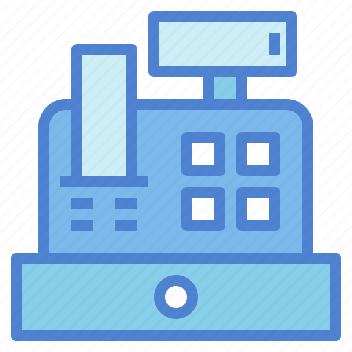buy, cash, commerce, payment, purchase, register, shopping icon