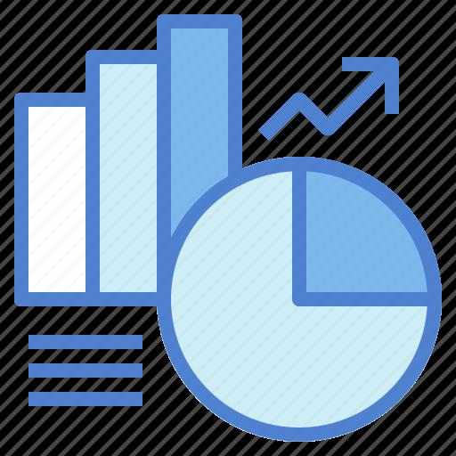 business, chart, finances, financial, presentation, statistics icon
