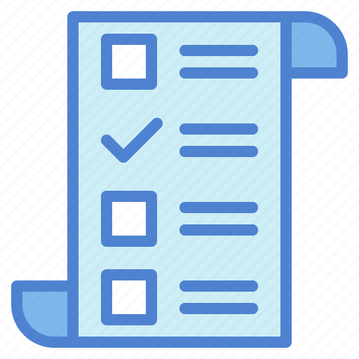 check, checklist, files, folders, interface, list, paper icon