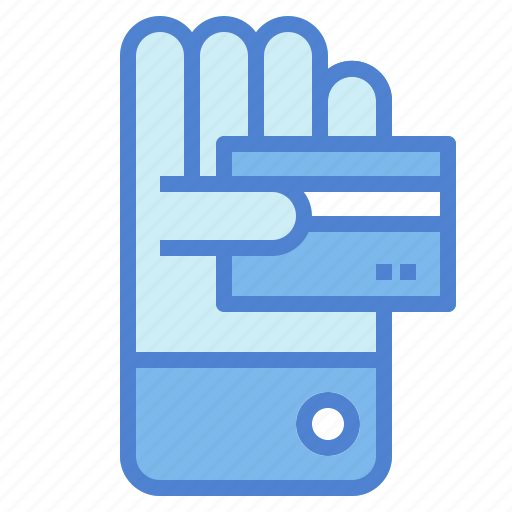 card, credit, hand, money, payment icon