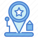 gps, location, map, maps, pin, position, street icon