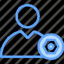 profile, profile setting, setting, user