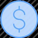 cash, coin, dollar, money, payment