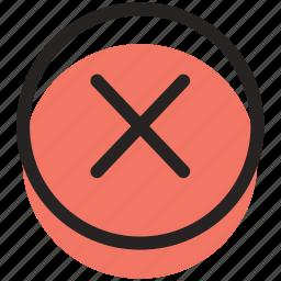 close, x icon