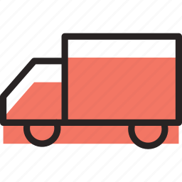 delivery, food, shopping, truck icon