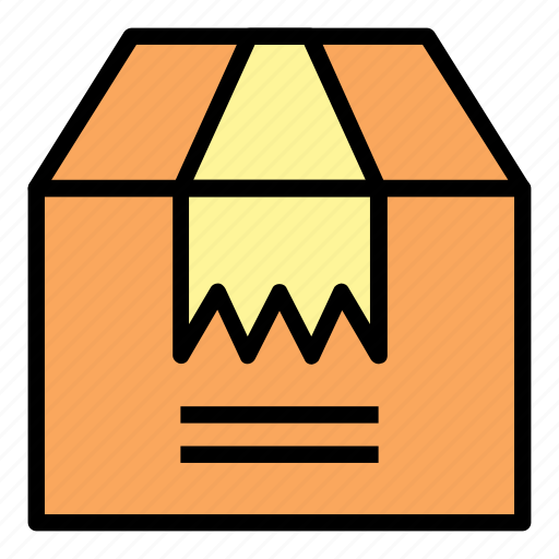 Box, delivery, shop, package, shipping, packaging, ecommerce icon