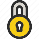 lock, locked, protect, protection, safe, secure, security icon